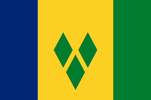 Flaga SAINT VINCENT I GRENADYNY