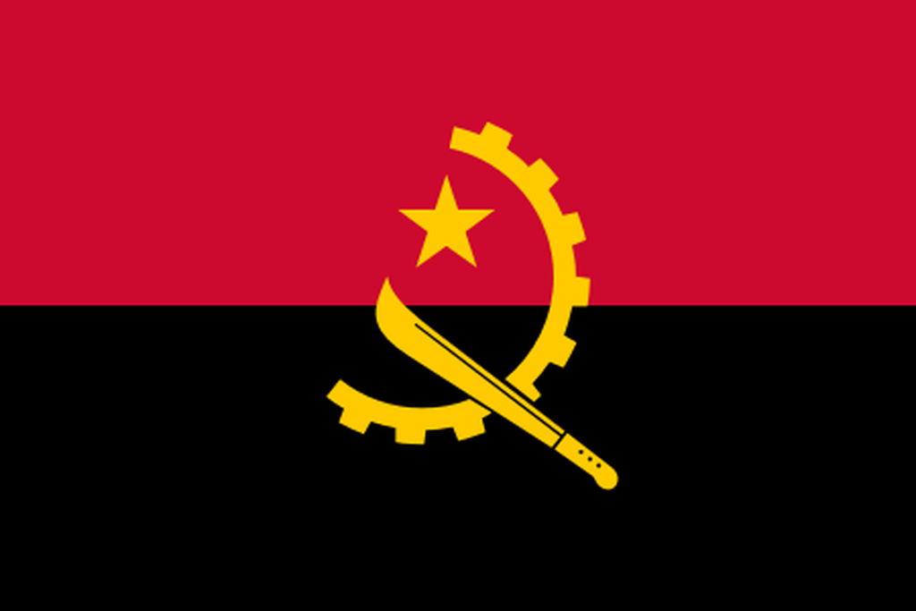 Flaga kraju ANGOLA [PNG]