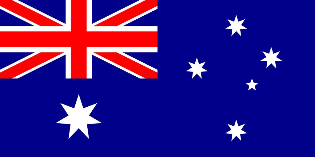 Flaga kraju AUSTRALIA [PNG]