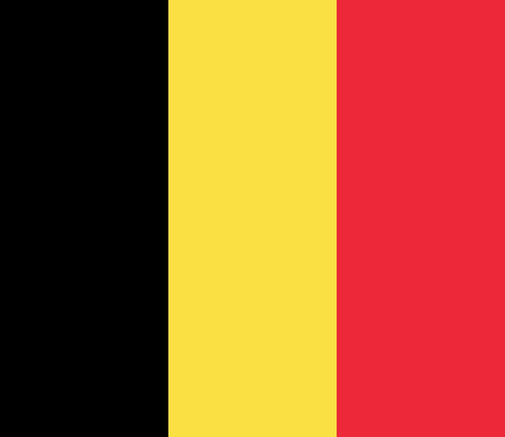 Flaga kraju BELGIA [PNG]