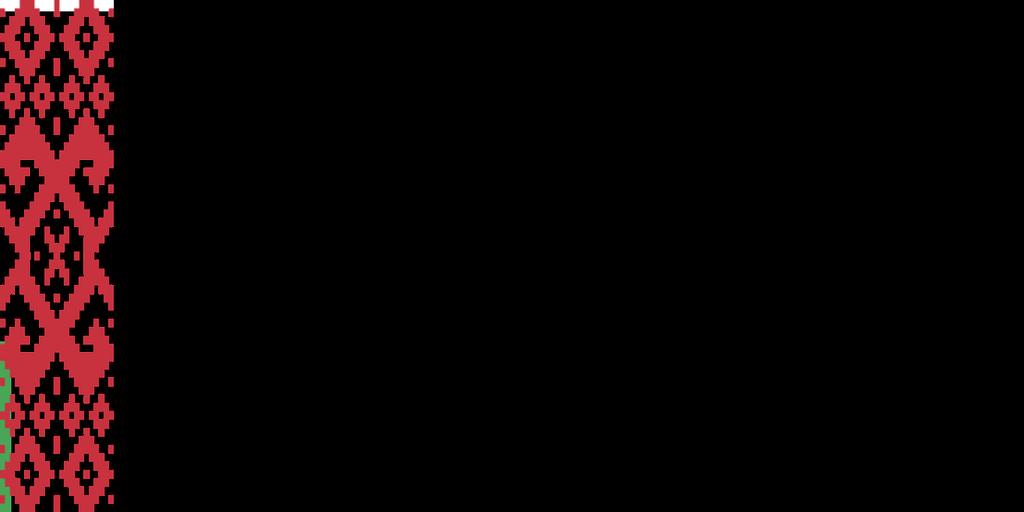 Flaga kraju BIAŁORUŚ [PNG]