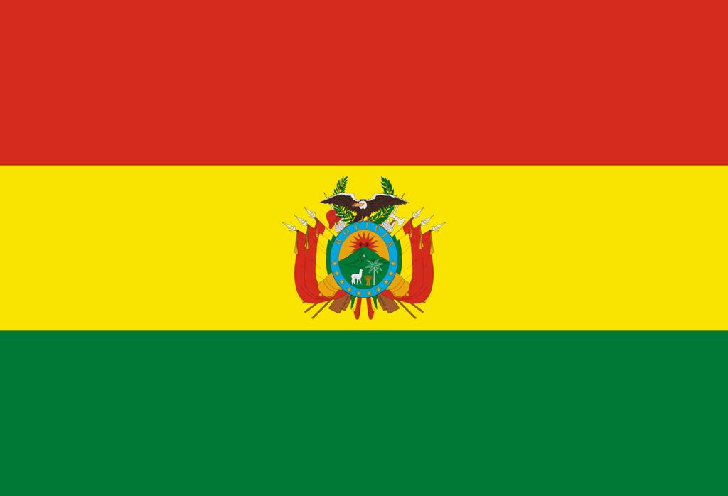 Flaga kraju BOLIWIA [PNG]