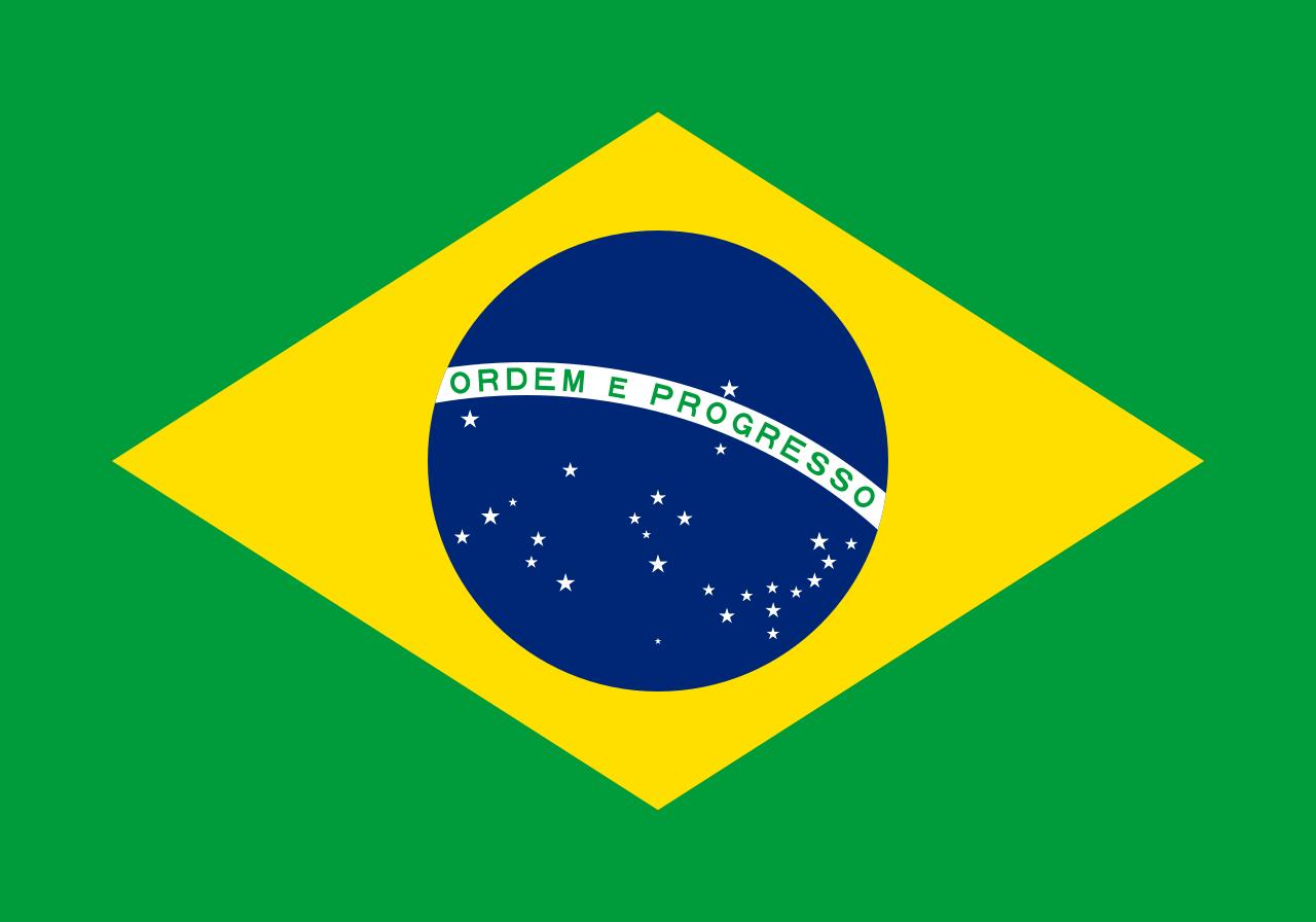 Flaga kraju BRAZYLIA [PNG]