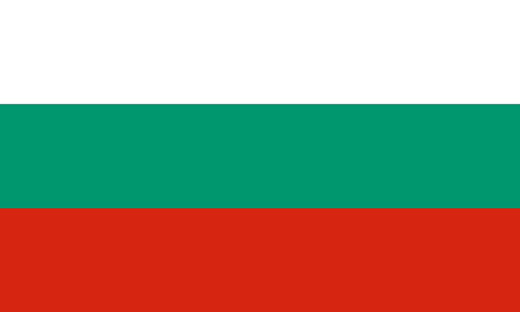 Flaga kraju BUŁGARIA [PNG]