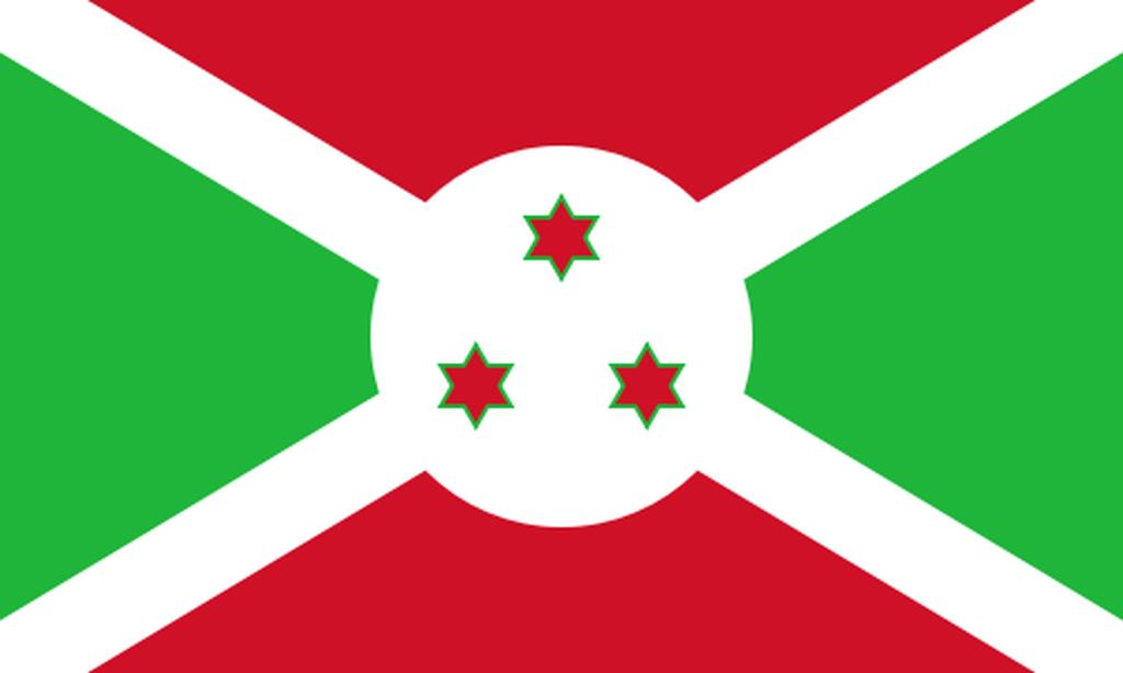 Flaga kraju BURUNDI [PNG]