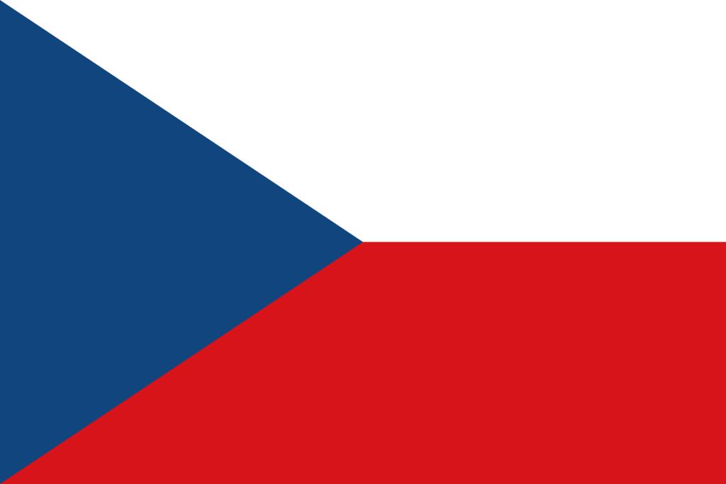 Flaga kraju REPUBLIKA CZESKA [PNG]
