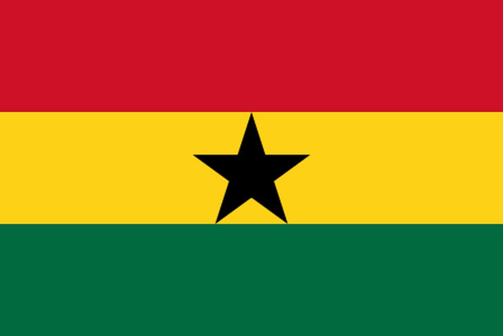 Flaga kraju GHANA [PNG]