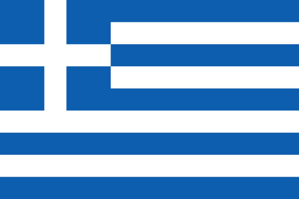 Flaga kraju GRECJA [PNG]