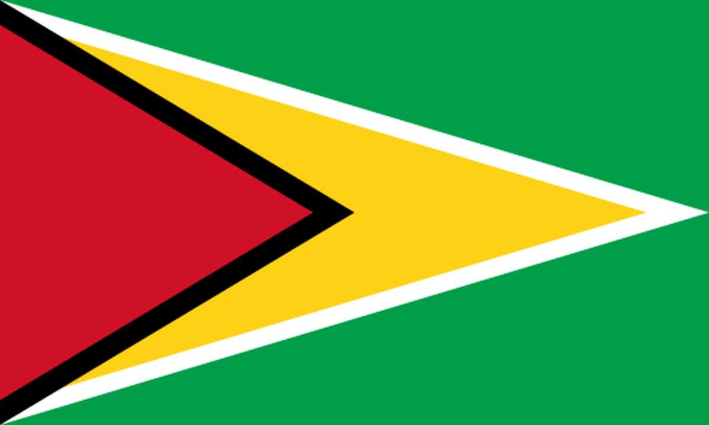 Flaga kraju GUJANA [PNG]