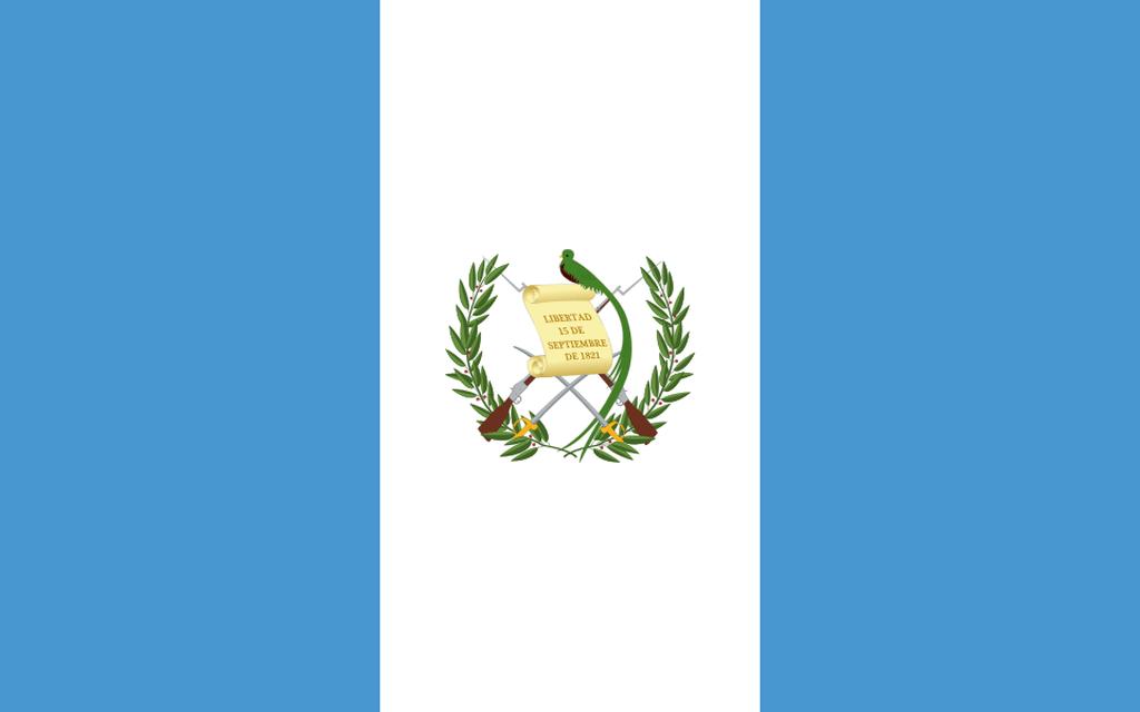 Flaga kraju GWATEMALA [PNG]