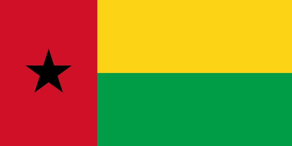 Flaga kraju GWINEA BISSAU [PNG]
