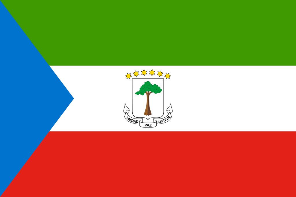 Flaga kraju GWINEA RÓWNIKOWA [PNG]