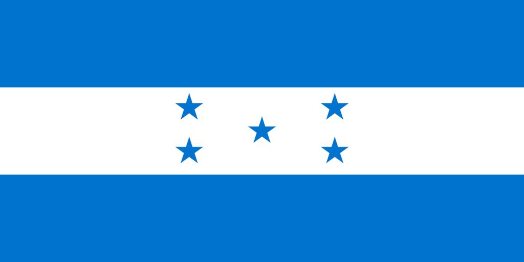 Flaga kraju HONDURAS [PNG]