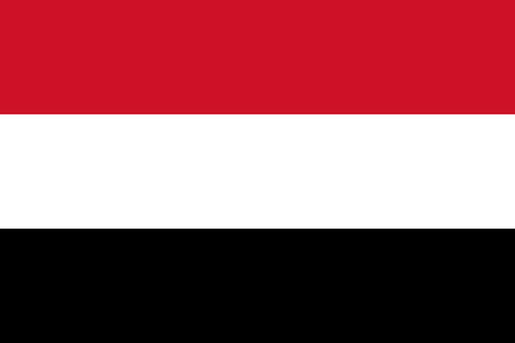 Flaga kraju JEMEN [PNG]
