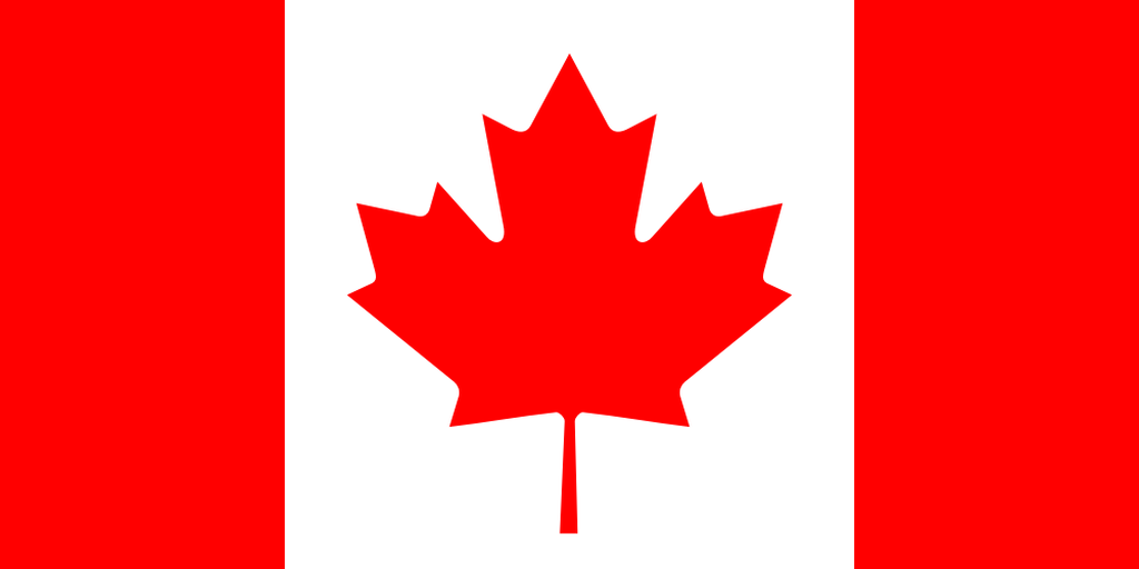 Flaga kraju KANADA [PNG]