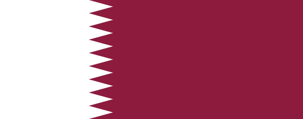 Flaga kraju KATAR [PNG]