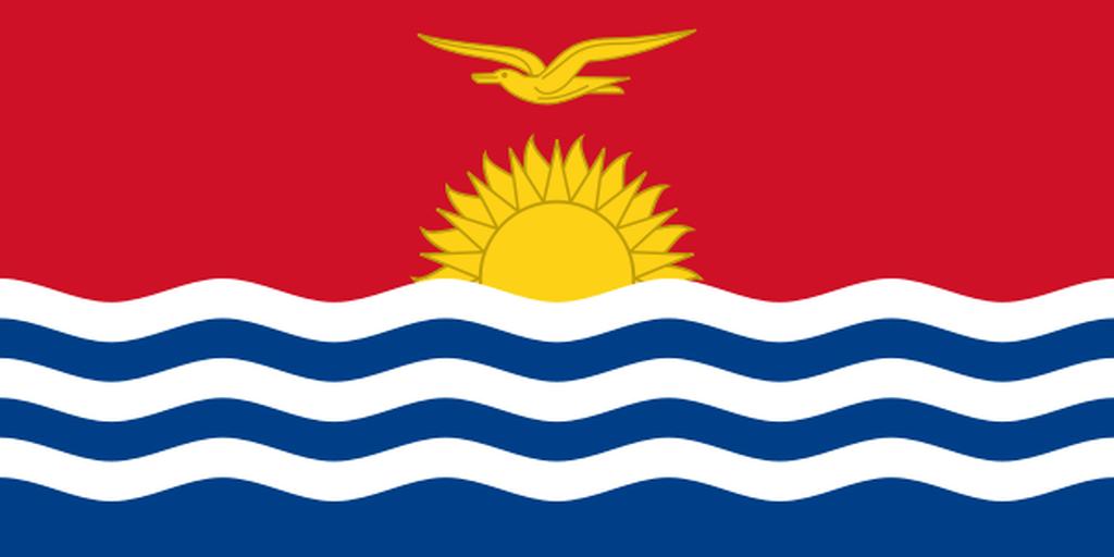 Flaga kraju KIRIBATI [PNG]