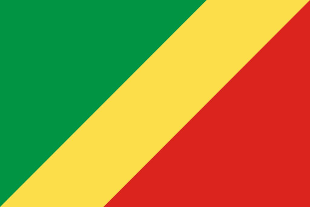 Flaga kraju KONGO [PNG]