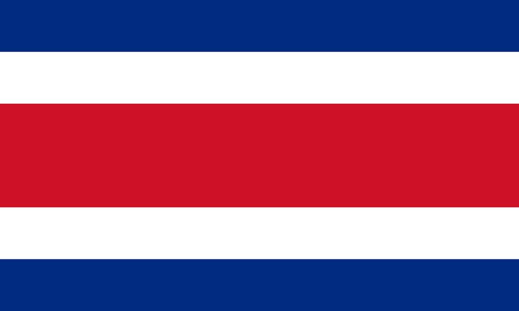 Flaga kraju KOSTARYKA [PNG]