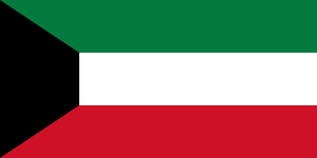 Flaga kraju KUWEJT [PNG]