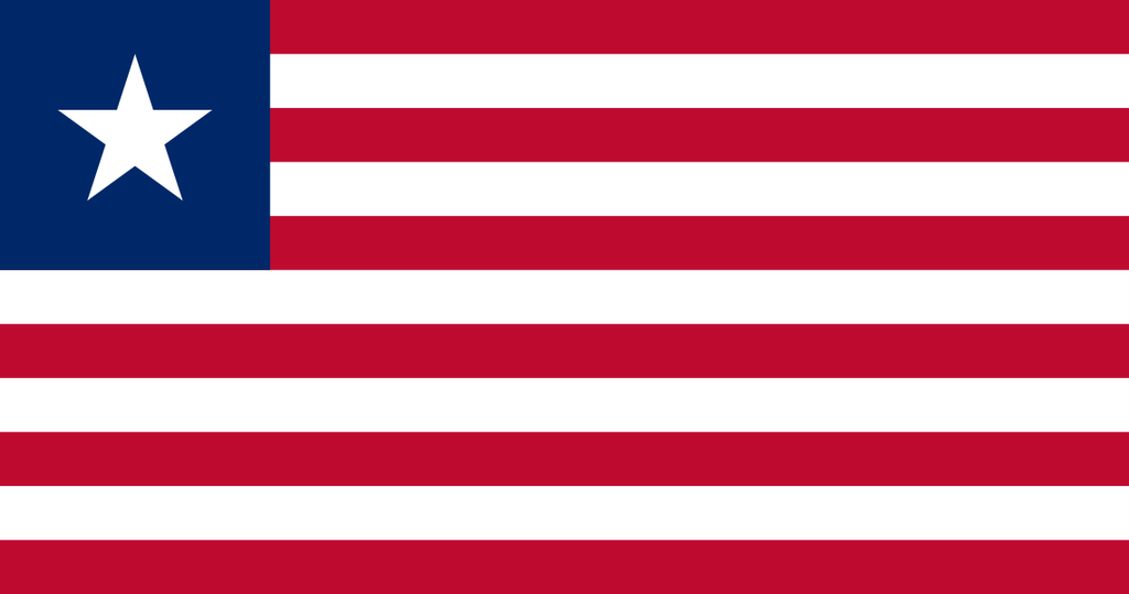Flaga kraju LIBERIA [PNG]