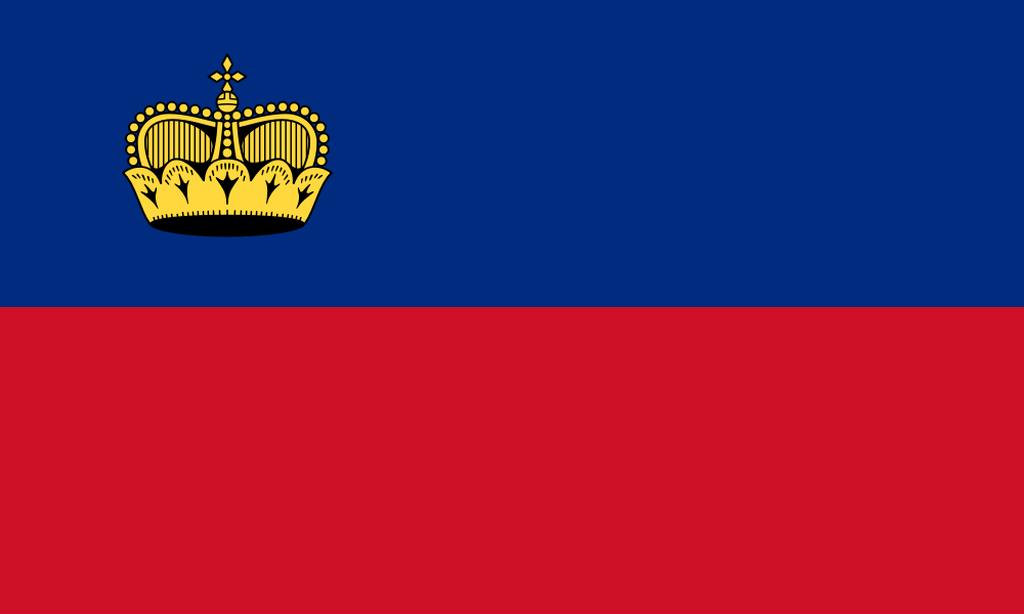 Flaga kraju LIECHTENSTEIN [PNG]