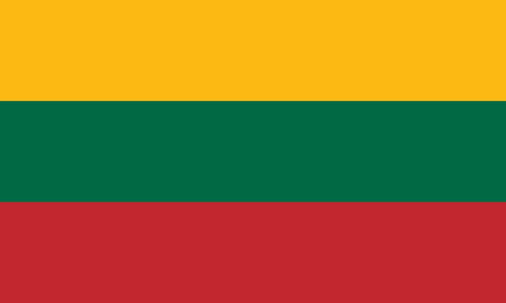 Flaga kraju LITWA [PNG]
