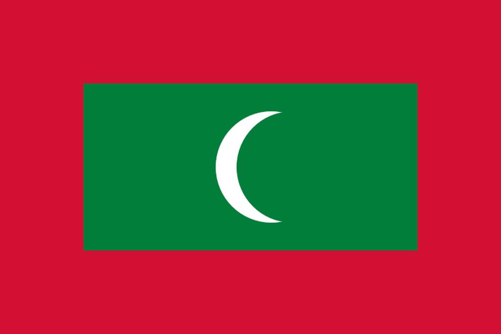 Flaga kraju MALEDIWY [PNG]