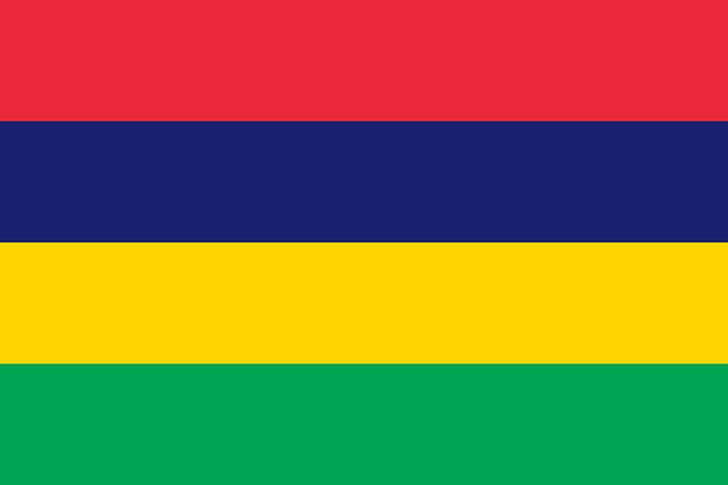 Flaga kraju MAURITIUS [PNG]