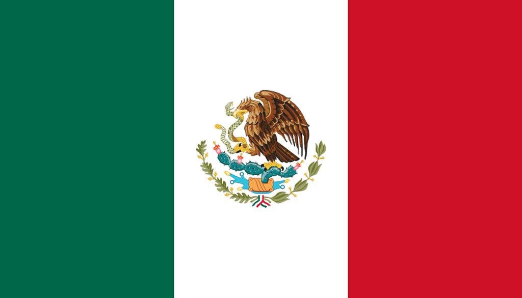 Flaga kraju MEKSYK [PNG]
