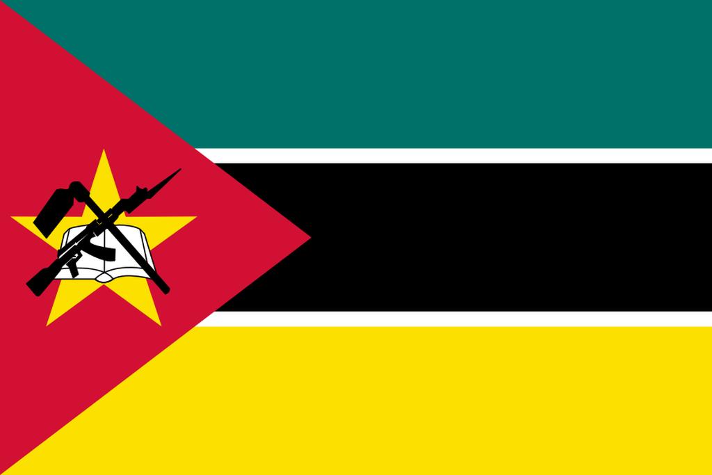Flaga kraju MOZAMBIK [PNG]