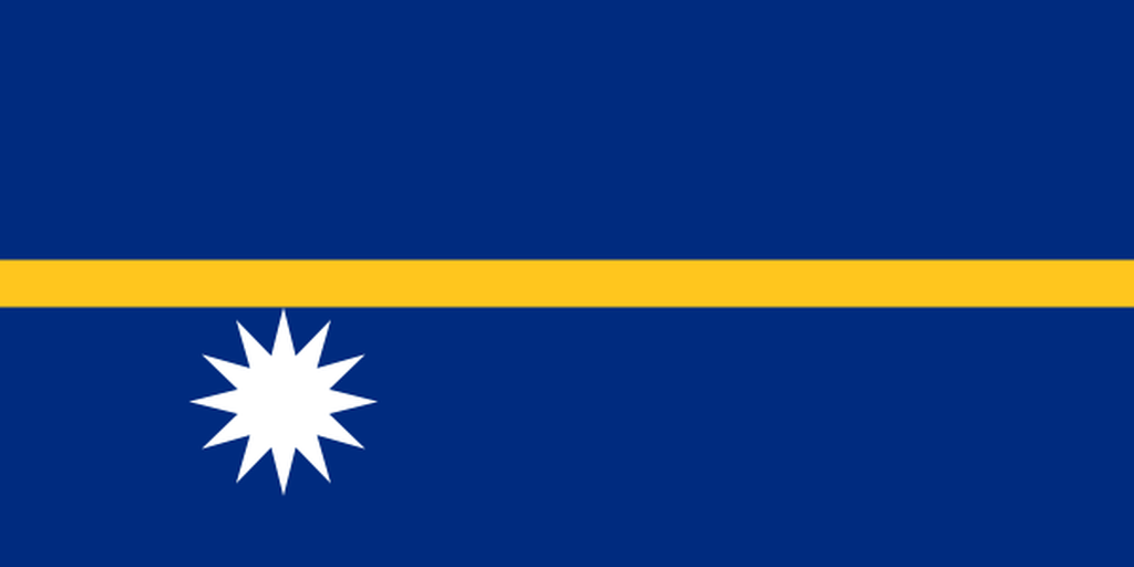 Flaga kraju NAURU [PNG]