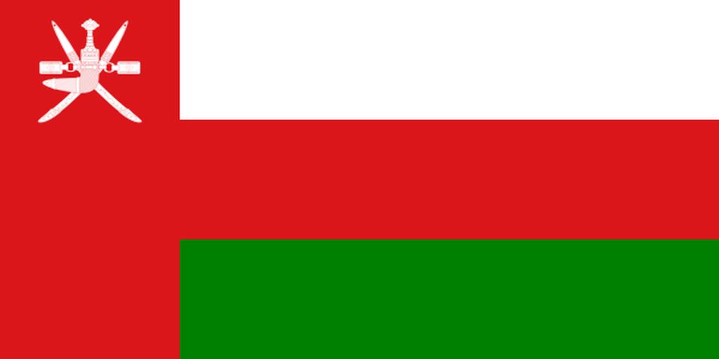 Flaga kraju OMAN [PNG]