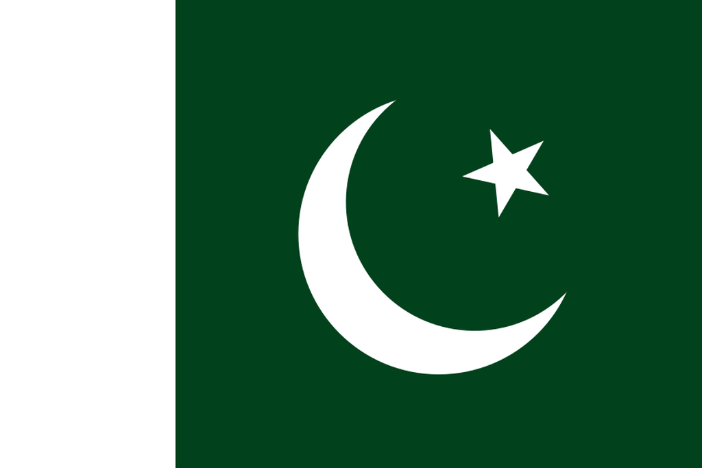 Flaga kraju PAKISTAN [PNG]