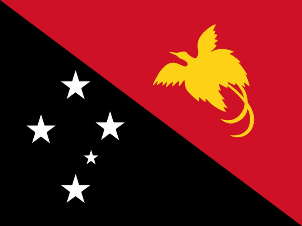 Flaga kraju PAPUA NOWA GWINEA [PNG]