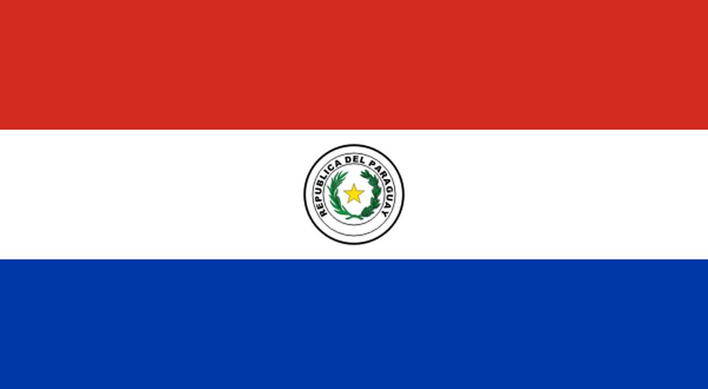 Flaga kraju PARAGWAJ [PNG]