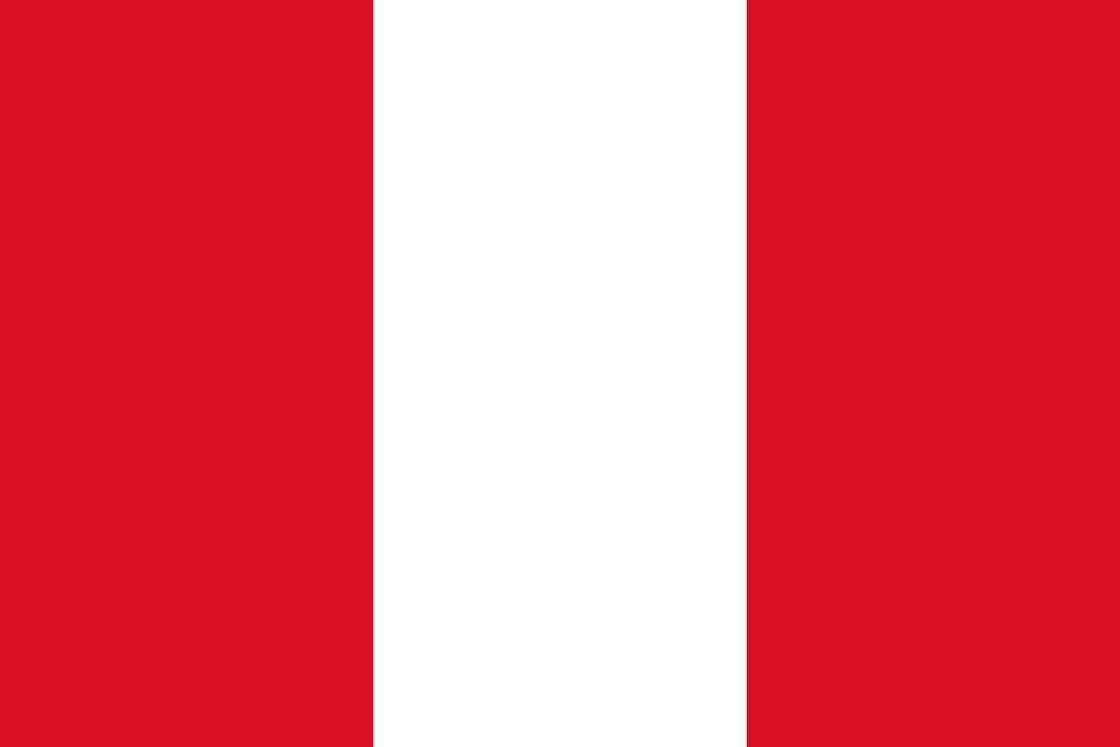 Flaga kraju PERU [PNG]