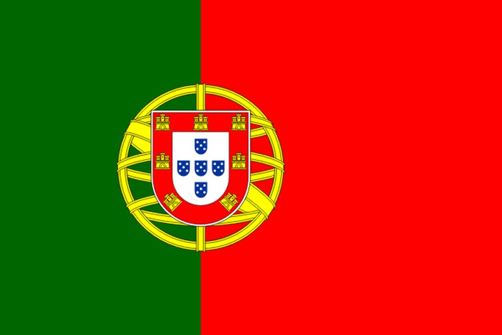 Flaga kraju PORTUGALIA [PNG]