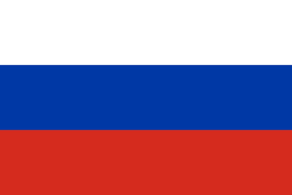 Flaga kraju ROSJA [PNG]