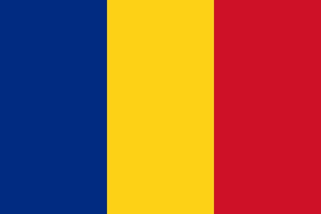 Flaga kraju RUMUNIA [PNG]