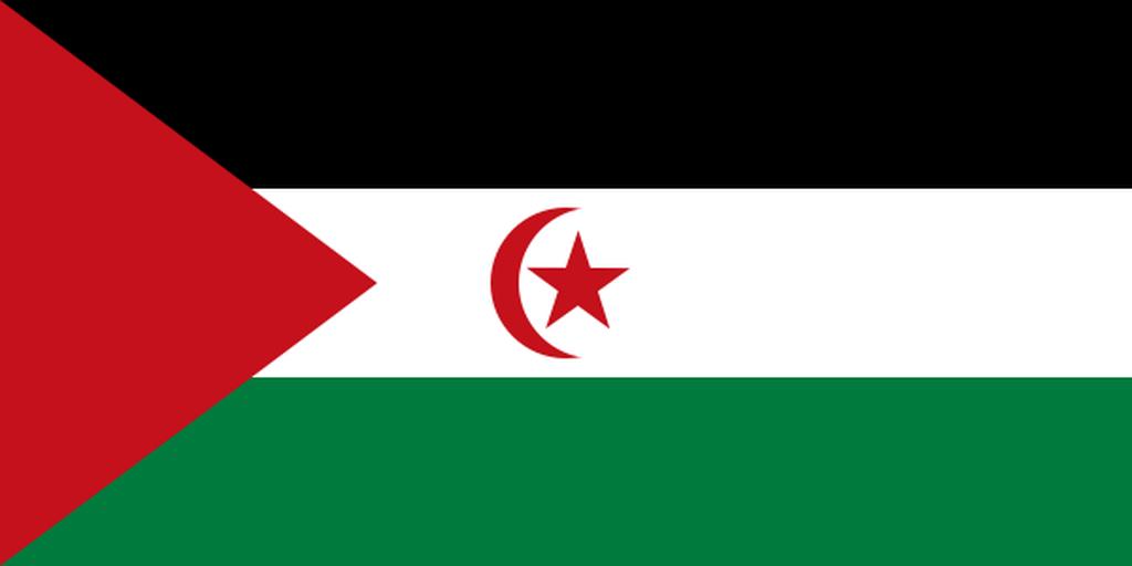 Flaga kraju SAHARA ZACHODNIA [PNG]