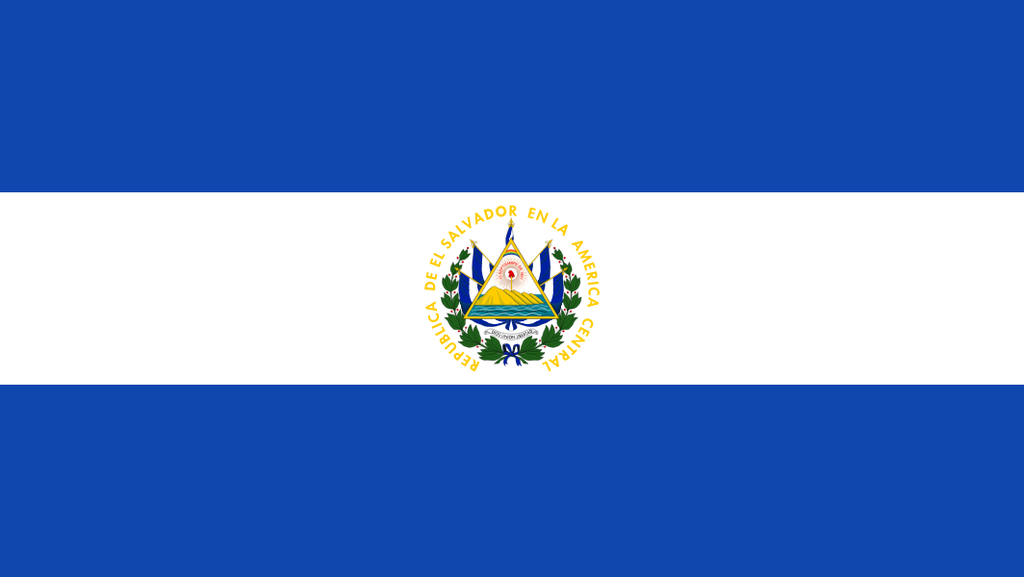 Flaga kraju SALWADOR [PNG]
