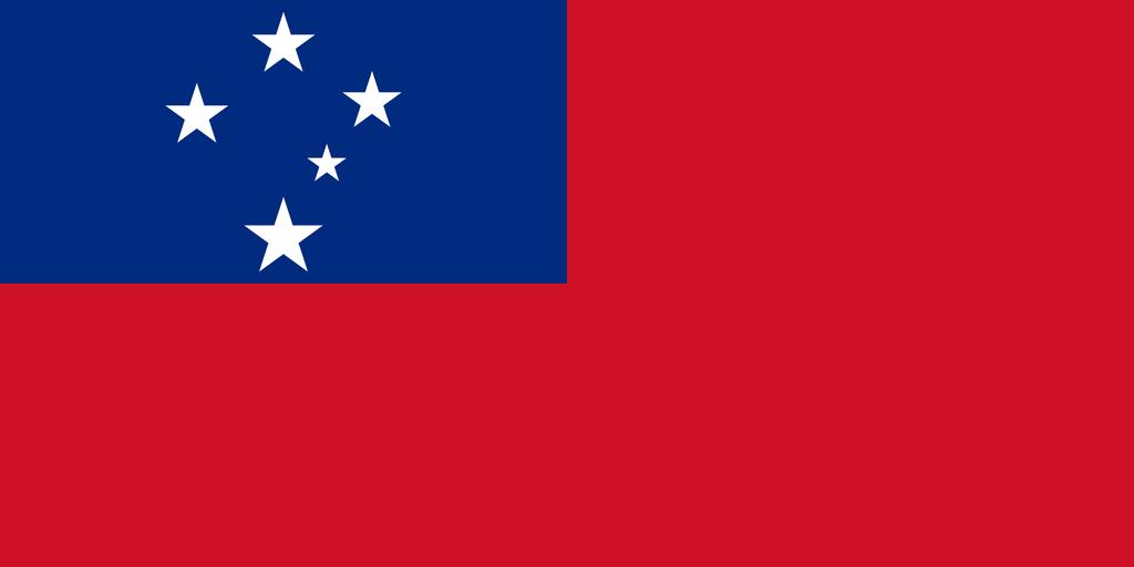 Flaga kraju SAMOA [PNG]