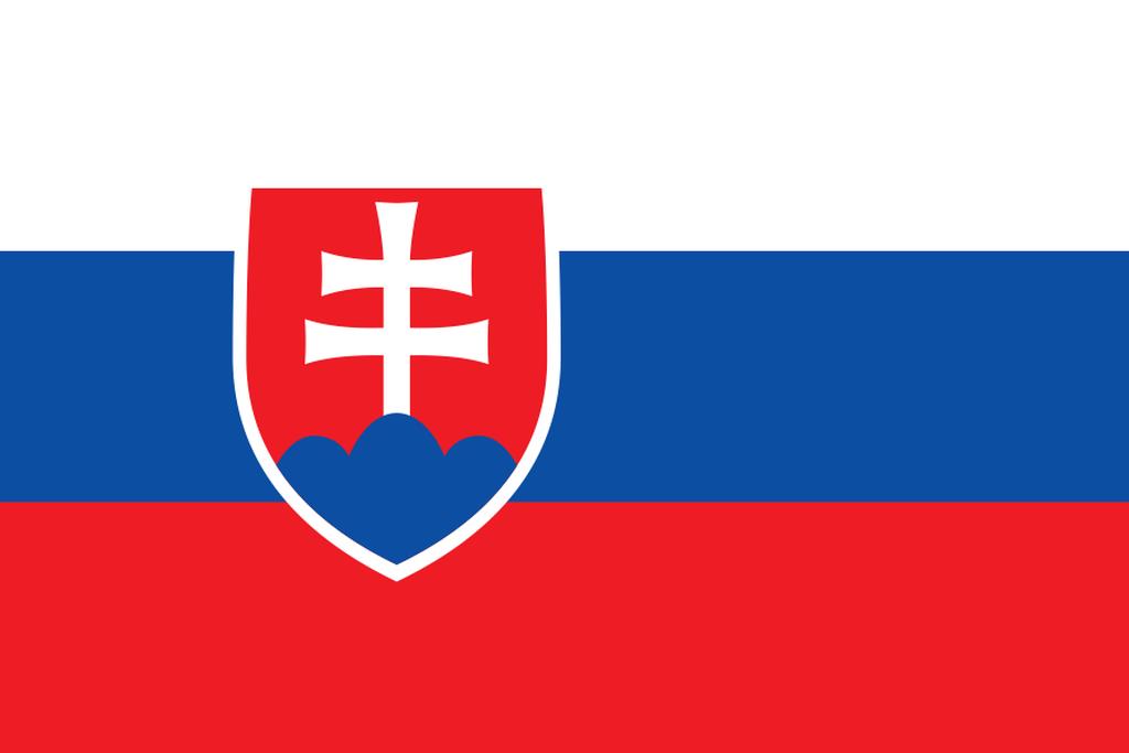 Flaga kraju SŁOWACJA [PNG]