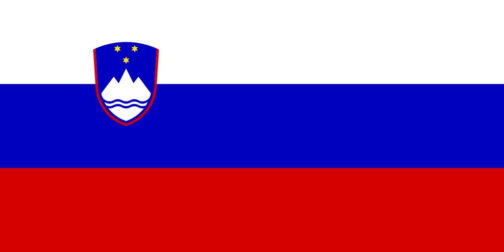 Flaga kraju SŁOWENIA [PNG]