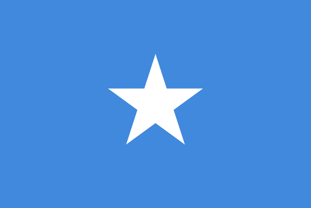 Flaga kraju SOMALIA [PNG]