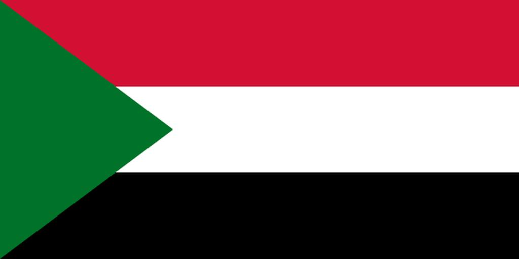 Flaga kraju SUDAN [PNG]