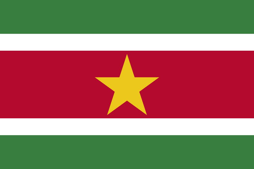 Flaga kraju SURINAM [PNG]