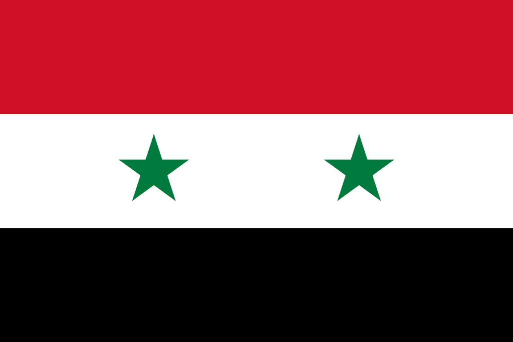 Flaga kraju SYRIA [PNG]
