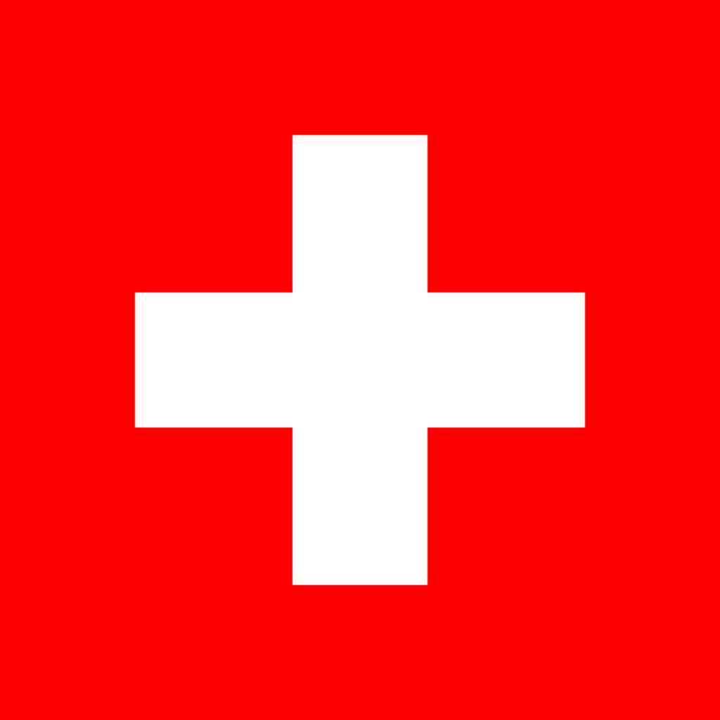Flaga kraju SZWAJCARIA [PNG]